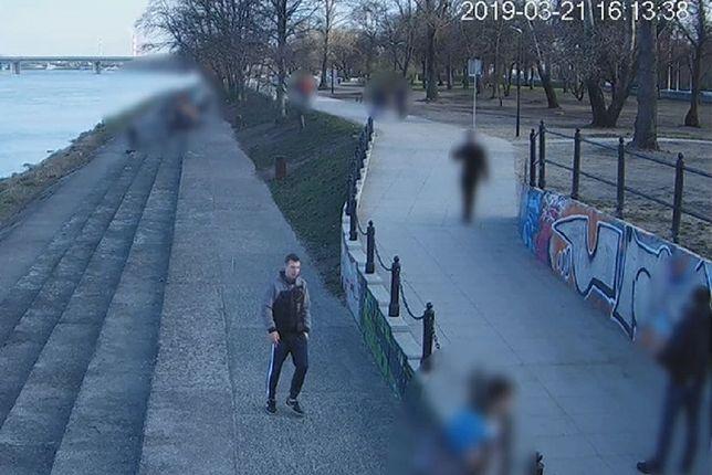 Policja publikuje wizerunek sprawcy.