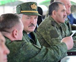 Łukaszenka straszy Zachód. Pojawił się na manewrach Zapad-2021