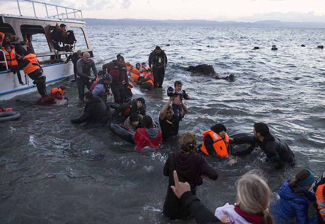 Zatonęła łódź z migrantami u wybrzeży Lesbos. Wiele ofiar