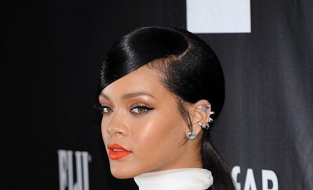 Rihanna na Nowojorskim Tygodniu Mody