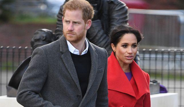 Książę Harry i księżna Meghan nie spędzą razem walentynek