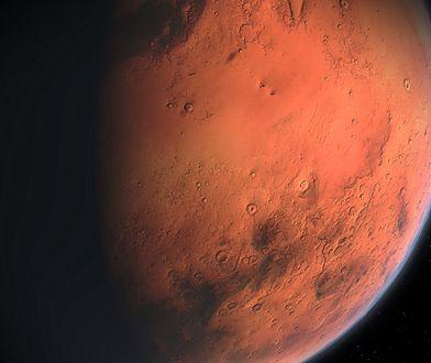 Mars w opozycji Słońca