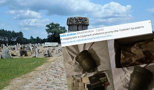 Urna z prochami miała trafić na złom. Była schowana w pudełku opisanym jako prochy ofiary obozu zagłady