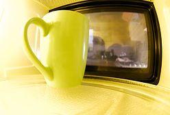 Mikrofalówka straszy w kuchni