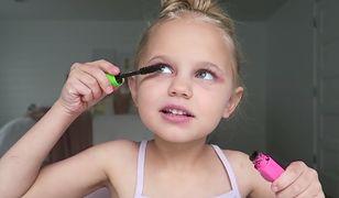 Kolejny hit internetu! Małe beauty ekspertki pokazują jak się malować