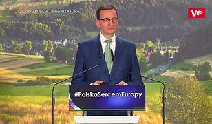 """Mateusz Morawiecki o rolnictwie. """"Największa polska fabryka"""""""
