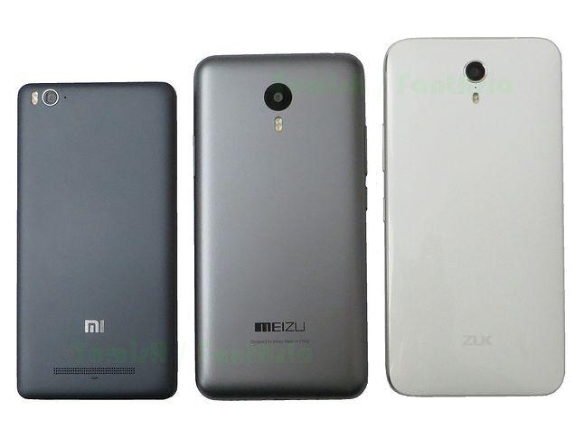 Xiaomi Mi4i, Meizu M2 Note, ZUK Z1