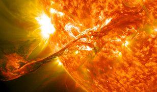 Burza słoneczna może spowodować chaos - naukowcy próbują zbadać to zjawisko