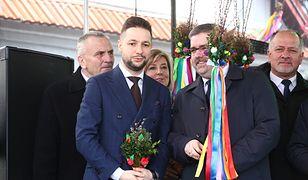 Niedzielę palmową Patryk Jaki spędził w Lipnicy Murowanej