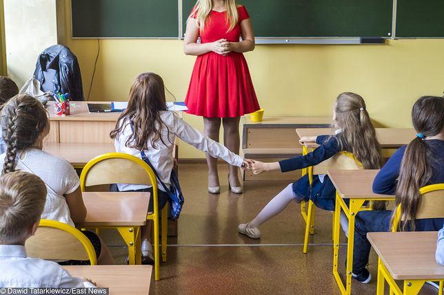 Dorota Warakomska wspiera strajk nauczycieli