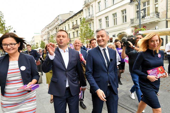 """Wybory prezydenckie. Społeczniczka z Wiosny miała zostać szefową kampanii Biedronia. Szef SLD się nie zgodził, """"mianował"""" swojego człowieka"""