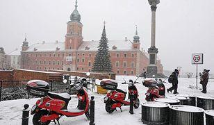 W Warszawie znów spadnie śnieg