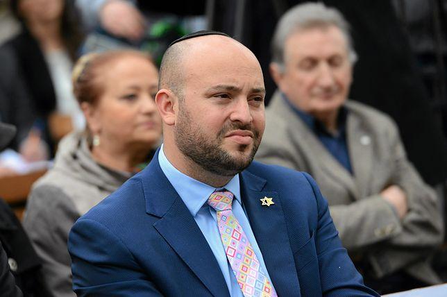 Jonny Daniels, szef fundacji From the Depths, nie da się przepędzić z Polski