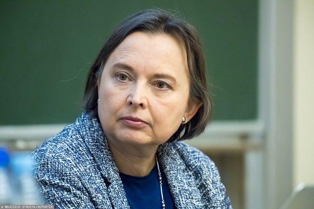 Katarzyna Hall ostro o ministerstwie edukacji