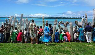 Ludność Nowej Kaledonii podczas święta Ignamu
