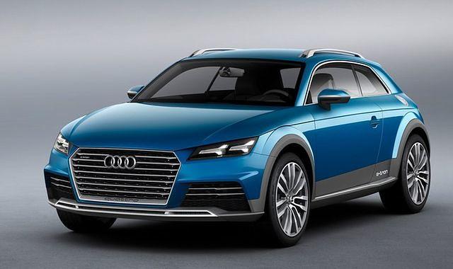 Audi allroad shooting brake: oszczędny crossover