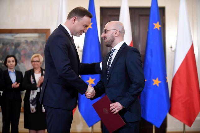 To Krzysztof Łapiński stoi za przemianą prezydenta