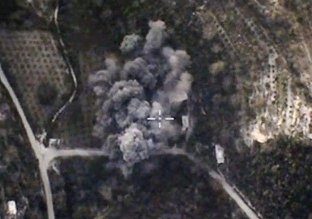 Rosyjski nalot w Syrii