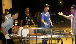 Eksplozja podczas antyrządowych protestów w Tajlandii. Dwie osoby ranne