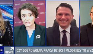 Na antenie Polsat News doszło do ostrej wymiany zdań