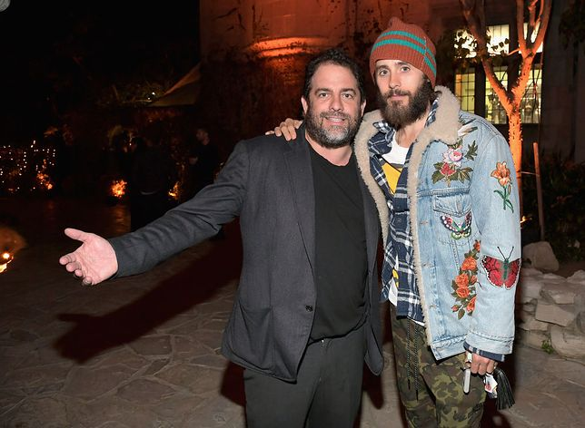 "Brett Ratner i Jared Leto, który miał zagrać rolę Hugh Hefnera w biografii twórcy ""Playboya"""