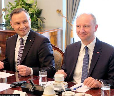 Andrzej Duda nie ma wątpliwości ws. szefa oddziału IPN we Wrocławiu. Ale wcześniej przyznał mu ważne wyróżnienie