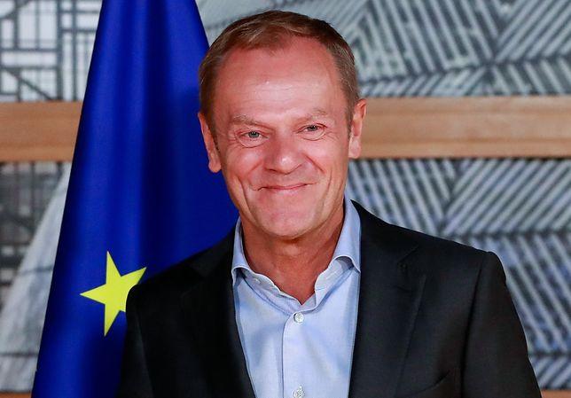 Donald Tusk wspiera WOŚP