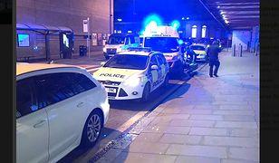 Atak nożownika na dworcu w Manchesterze. Są ranni