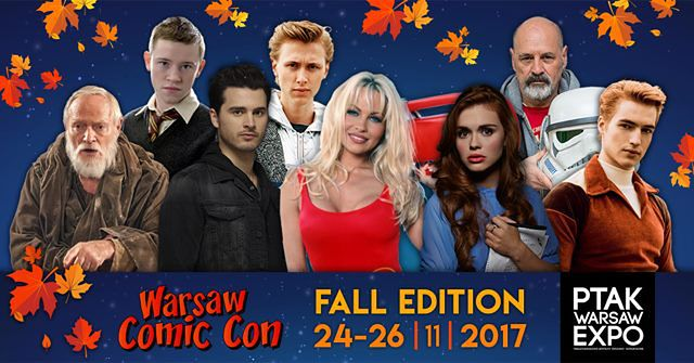 """Gwiazdy """"Gry o tron"""", """"Harry'ego Pottera"""" i """"Teen Wolfa"""" w stolicy. Bilety na 2. Warsaw Comic Con już w sprzedaży"""