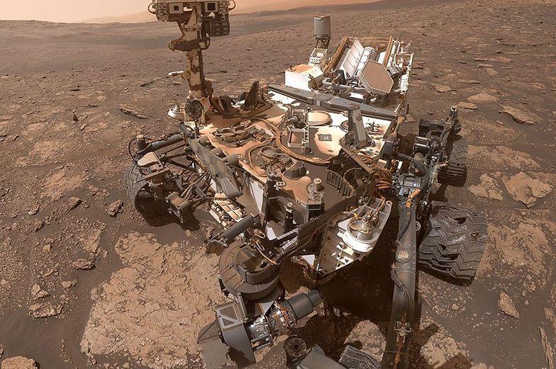 Cud marsjańskiego krajobrazu. Łazik NASA dostarczył niezwykłe zdjęcie