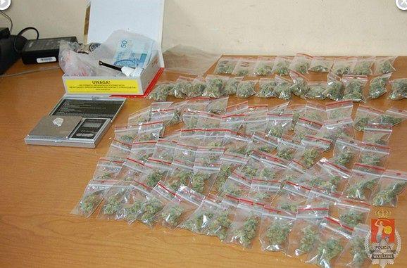 Miał w domu ponad 76 gramów marihuany!