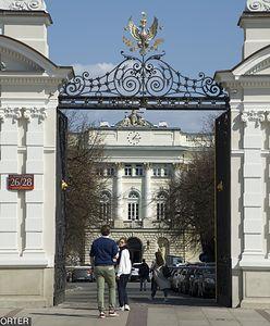 Agresywny słuchacz na Uniwersytecie Warszawskim