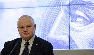 Glapiński: Polska nie powinna wstępować do strefy euro