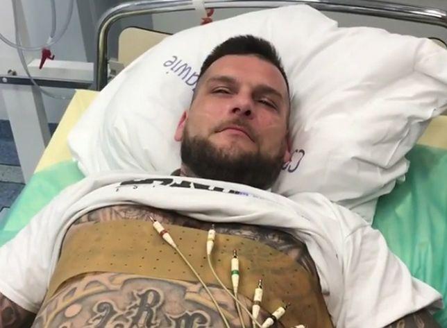 Popek trafił do szpitalu po treningu tanecznym