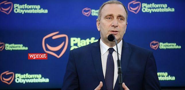 Grzegorz Schetyna: propozycja prezydenta ws. wyboru sędziów KRS to absurd