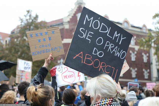 Czwarty dzień protestów po wyroku TK ws. aborcji