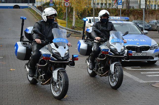 Policyjne BMW F 900 XR
