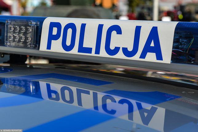 Przez kilka godzin policja kierowała samochody na objazdy