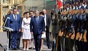 Prezydent Bronisław Komorowski odznaczył powstańców w Parku Wolności