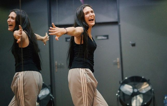 Magda Pyznar wróciła do tańca.
