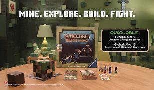 Minecraft: Builders & Biomes. Gra planszowa wkrótce dostępna.