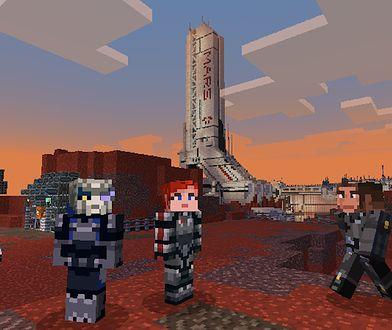 DLC z motywami Mass Effect dla Minecraft już dostępny