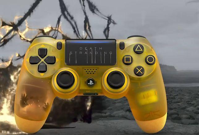 Złoty pad w specjalnej wersji PlayStation 4 Pro