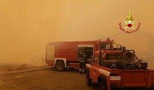 Gigantyczne pożary na Sardynii. Ludzie zmuszeni do ewakuacji