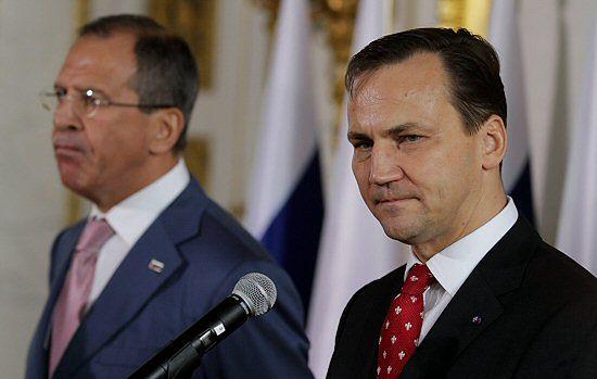 Ławrow: chcieliśmy pomóc naszym polskim przyjaciołom