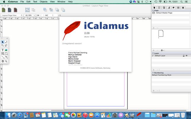 Program Calamus jest ciągle rozwijany... na OS X. Historia czasem jest naprawdę pokręcona. Program który z Atari miał wyprzeć Apple z DTP przeżył tylko na Apple.
