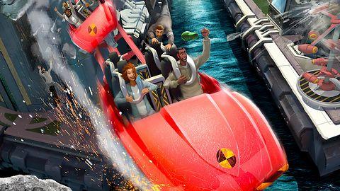 Screamride, czyli kolejka górska zamieniona w narzędzie zniszczenia