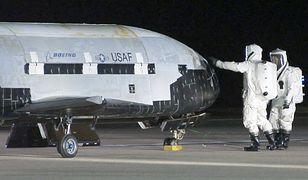 X-37B przyłapany na zdjęciach