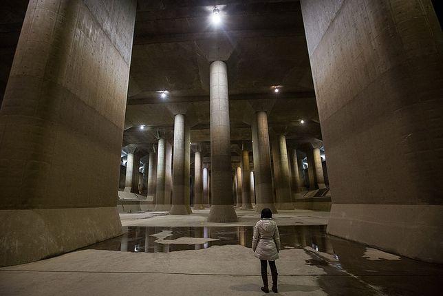 Gigantyczna instalacja przeciwpowodziowa chroni Tokio