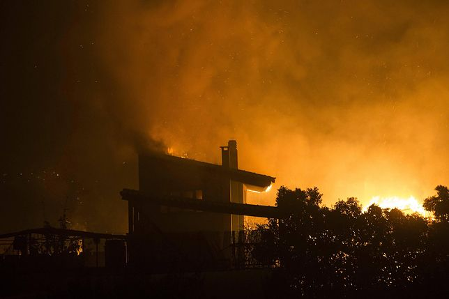 W lipcowych pożarach w Grecji zginęło ok. 90 osób, w tym dwoje Polaków